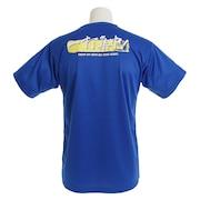 Tシャツ メンズ ドライプラス 一打集中 半袖Tシャツ 740G9ES3582 BLU 卓球ウェア