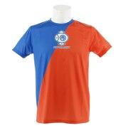 Tシャツ メンズ 半袖 Tリーグ チームカラー 日本ペイントマレッツ 011-110305-DO 卓球