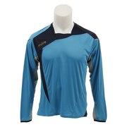 Mi-Tech プラクティスシャツ MI-1180-L SAX 【サッカー スポーツ ウェア メンズ プラクティスシャツ Tシャツ 長袖】