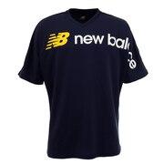 サッカー ウェア メンズ 半袖 Tシャツ 90S BIGロゴ プラクティスシャツ JMTF0402NV