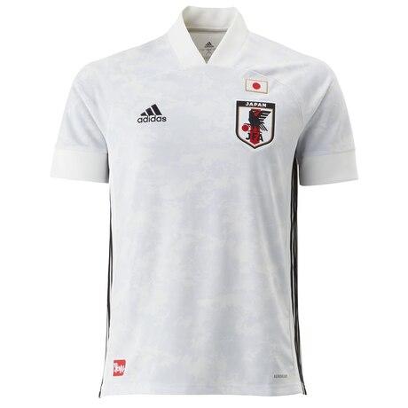 サッカー ウェア メンズ サッカー日本代表 2020 アウェイ レプリカユニフォーム GEM13-ED7352 白 ホワイト