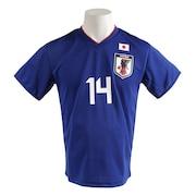 サッカー ウェア メンズ Tシャツ 半袖 プレーヤーズ 久保 O-357