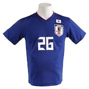サッカー ウェア メンズ Tシャツ 半袖 プレーヤーズ 三竿 O-368
