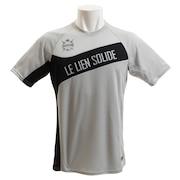 サッカー ウェア メンズ ドライプラス 切替シャツ 741D8HD018 GRY