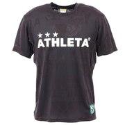サッカー フットサルウェア ジャガードメッシュTシャツ 3352 BLK