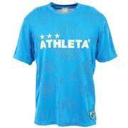 サッカー フットサルウェア ジャガードメッシュTシャツ 3352 BLU