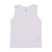 サッカー ジュニア インナー ドライプラス 高通気Vネックインナーシャツ 742GM0ES9311 白