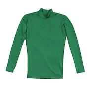 サッカー ジュニア インナー ストレッチ ハイネック 長袖 シャツ 742PG9ES4531 緑 アンダーシャツ
