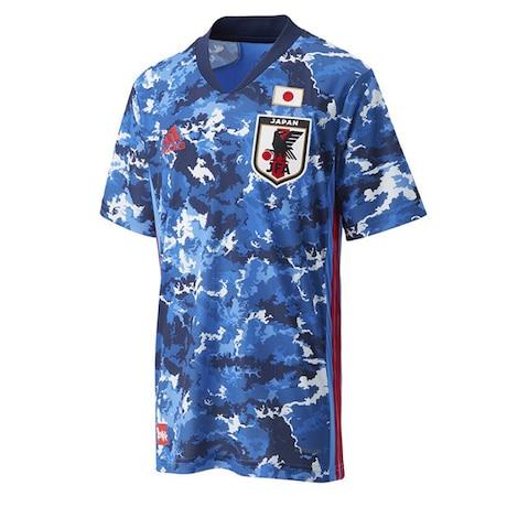 キッズ JFA サッカー日本代表 2020 ホーム ユニフォーム ファンアイテム GEM06-ED7345 スカイブルー