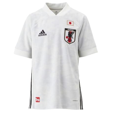 キッズ サッカー日本代表 2020 アウェイ レプリカユニフォーム GEM19-ED7358 白 ホワイト