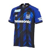 ジュニア 2021シーズン ガンバ大阪 1ST/HOME レプリカ半袖ユニフォーム UDS6116HJ BUBK