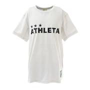 サッカー フットサルウェア ジュニア ジャガードメッシュTシャツ 3352J WHT