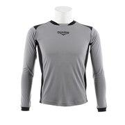 サッカー ジュニア ウェア キーパーシャツ 742D8KS125 シルバー