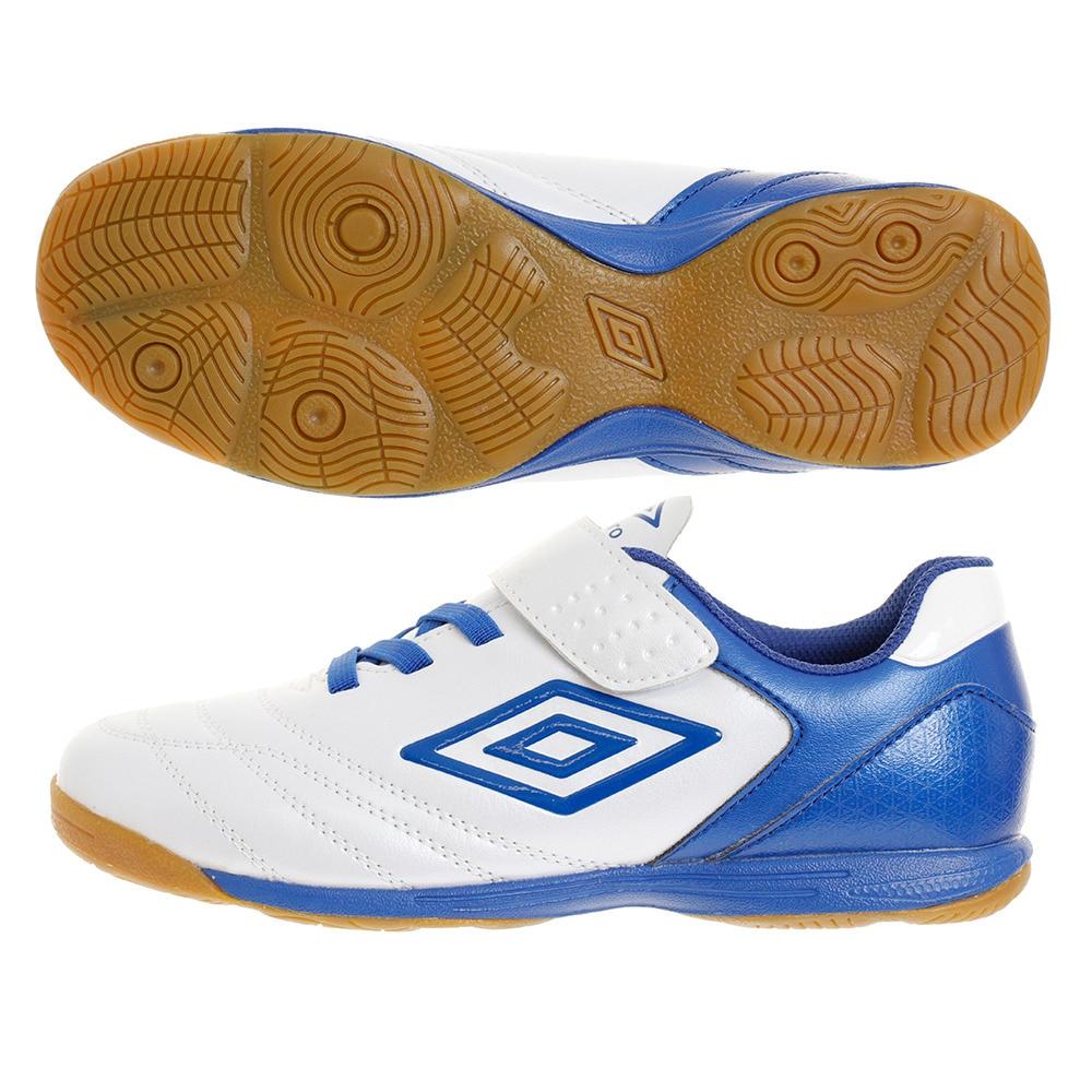 アンブロ ジュニアサッカーインドアトレーニングシューズ エバーブルー2SB J WIDIN UZ4PJB04WX WIDE 20.0 10 フットサル