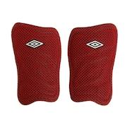 サッカー すねあて レガース ライト&ウインドスルー シンガード UJS4601 RED