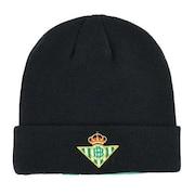 REAL BETIS ニットキャップ KF952HW56G BK サッカー フットサル 防寒 ニット帽