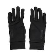 ヒートクロス フィールド防寒5本指グローブ 750D8SW9600 BLK スマホ対応 サッカー フットサル 手袋