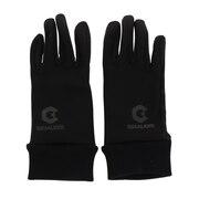 ウインドクロス フィールドグローブ 750GM9SW4522 BLK/BLK スマホ対応 サッカー フットサル 防風 手袋