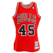 バスケットウエア   マイケル ジョーダン 1994-95 RED シカゴブルズ オーセンティックAJY4LG19008CBUSCAR94MJO