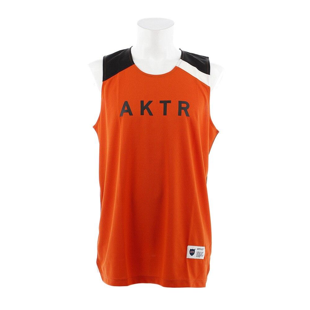 AKTR COMBINATION タンクトップ 218-056001 OR LL 28 バスケットボール