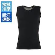 冷感ノースリーブインナーシャツ 751PG0ES8327 BLK