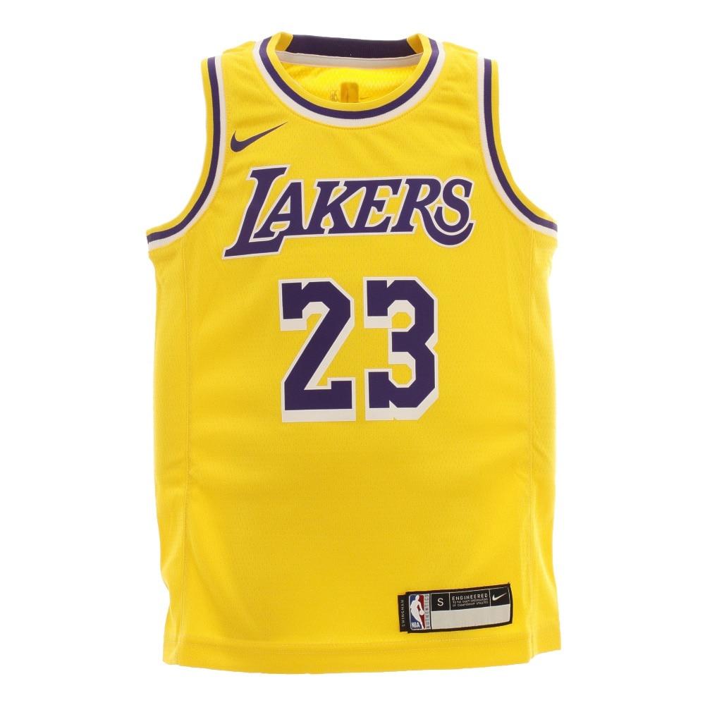NBA ジュニア レブロン・ジェームズ ロサンゼルス・レイカーズ アイコン ユニフォーム PZ2B7BZ2P-JAMES 170 20 バスケットボール