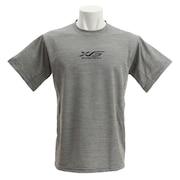 Tシャツ メンズ 半袖 ドライプラスW 吸汗速乾 バスケ グラフィック 751G9ES1001 GRY 【 バスケットボール ウェア 】