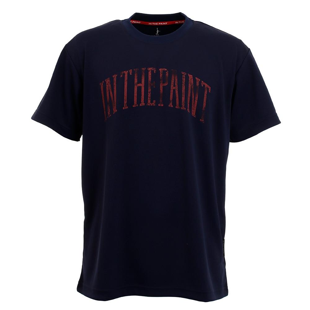IN THE PAINT Tシャツ メンズ 半袖 ITP20307NVY L 48 バスケットボール