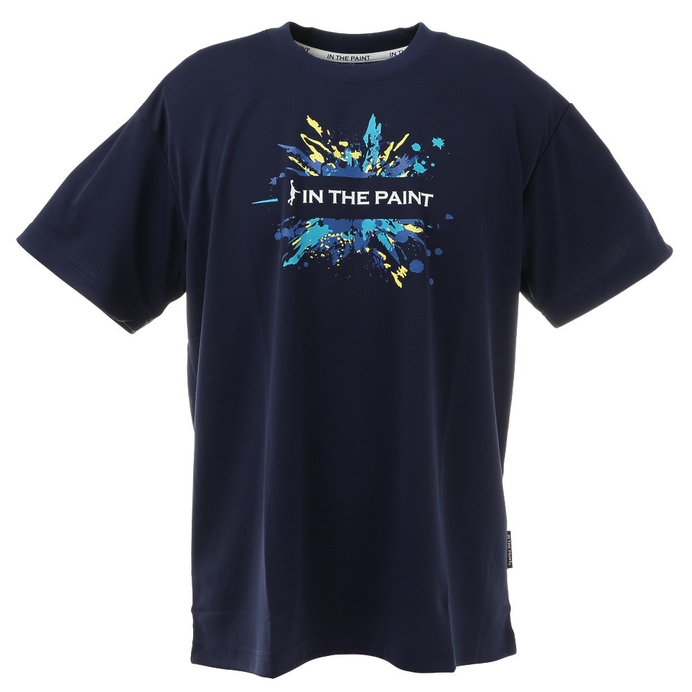 IN THE PAINT Tシャツ ITP20316NVY S 48 バスケットボール
