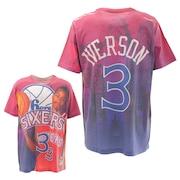 Tシャツ メンズ 半袖 アレン・アイバーソン N&N BMTRKT18007P76REDAIV 【 バスケットボール ウェア 】