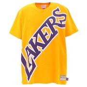 Tシャツ メンズ 半袖 BIGFACE SSTEBW19070LALGOLD 【 バスケットボール ウェア 】