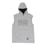 バスケ メンズ スリーブレスフーディ 751R0CD8279 GRY 【 バスケットボール ウェア 】