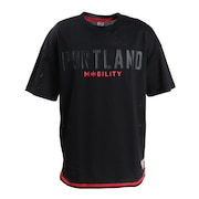 Tシャツ メンズ 半袖 PDX メッシュ 751R0EG8284 BLK 【 バスケットボール ウェア 】