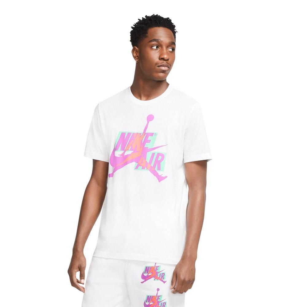 JORDAN ジャンプマン クラシック HBR 半袖クルーTシャツ CU9571-101 【バスケットボール ウェア Tシャツ 半袖 メンズ】 M 10 バスケットボール