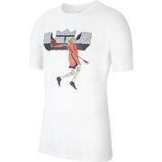 LBJ ロゴ 半袖Tシャツ CV1049-100FA20HP