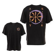 DRAWING BASKETBALL Tシャツ 121-004005 BK