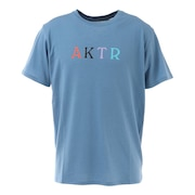 MULTI COLOR AKTR Tシャツ 121-007005 BL