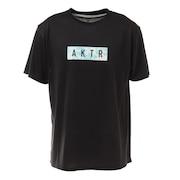 タイダイ ロゴTシャツ 121-017005 BK