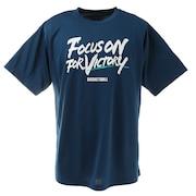 半袖Tシャツ DP Focus on for vict 751G1ES4411 BLU