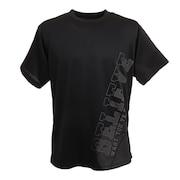ドライプラス メッセージTシャツ 751G1CD4406 BLK
