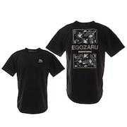 BACK PRINT LEOPARD Tシャツ EZST-2102-012