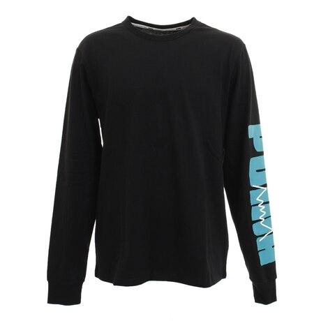 Tシャツ メンズ 長袖 パーケット グラフィックシャツ 59993703 【バスケットボール ウェア】