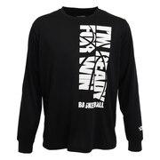 ドライプラス メッセージTシャツ 751G0CD1631 BLK