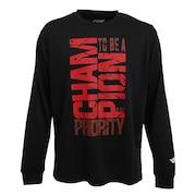 ドライプラス メッセージTシャツ 751G0CD1636 BLK