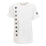 Tシャツ ジュニア 半袖 プリント CBA401358-1100 【 バスケットボール ウェア 】