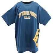 Tシャツ ジュニア 半袖 DEO PARTS Anything is possible 751G0ES8217 バスケットボール ウェア ドライ