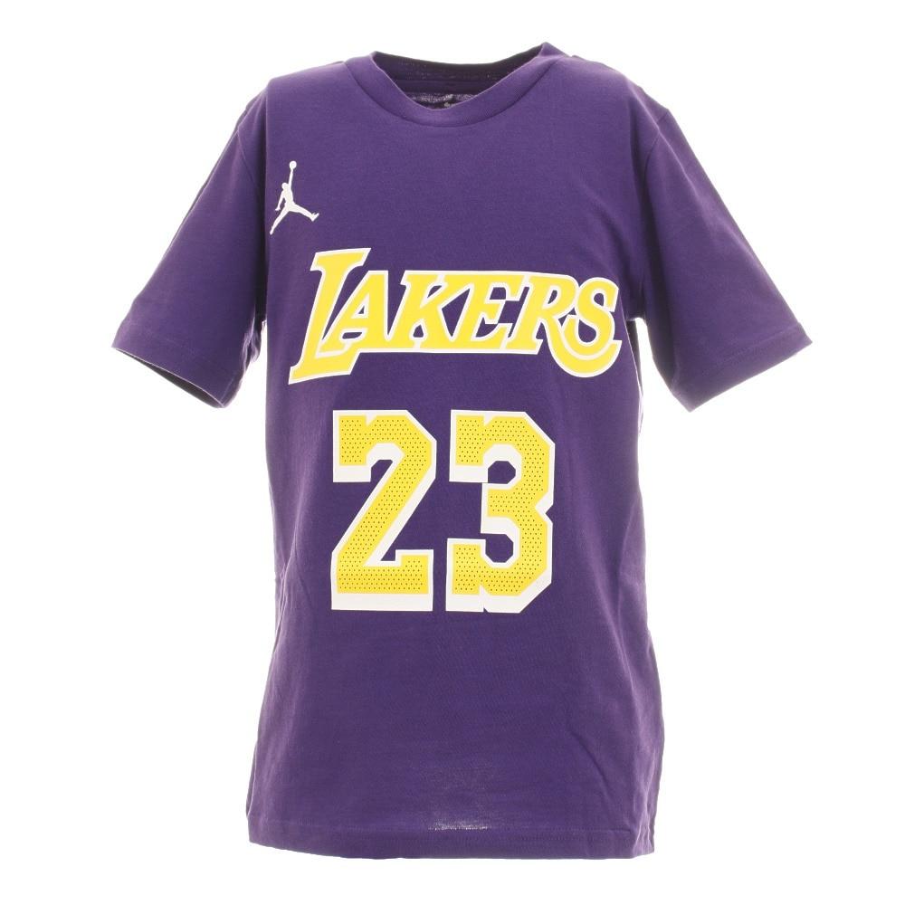 NBA ジュニア レブロン・ジェームズ ロサンゼルス・レイカーズ ステートメント ネーム&ナンバーTシャツ PY2B7BCJS-LAKERS 160 50 バスケットボール