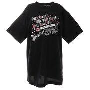 ジュニア 半袖Tシャツ DP Only those who 751G1ES4422 BLK