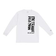 ジュニア ドライプラス 長袖Tシャツ 751G0CD1645 WHT