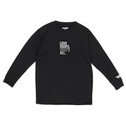 ジュニア ドライプラス 長袖Tシャツ 751G0CD1647 BLK
